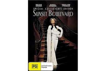 Sunset Boulevard -Comedy Rare- Aus Stock DVD PREOWNED: DISC LIKE NEW