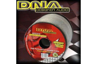 Dna 18 Awg Speaker Cable Wire 100M Metre Meter Cord Roll Marine Tinned Aws2018
