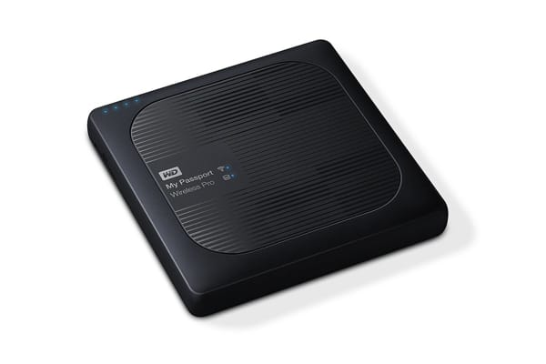 WD My Passport Wireless Pro Portable External WiFi Hard Drive - 3TB (WDBSMT0030BBK-PESN)