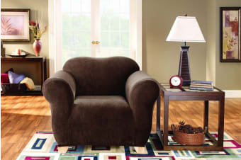 SureFit Pearson Sofa Chair Cover - Coffee