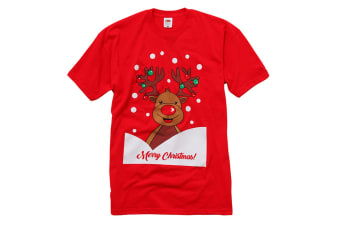 Christmas Shop T-shirt (Reindeer) (2XL)
