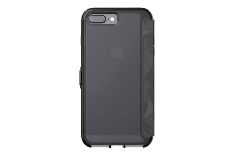 more photos 46e1e 14056 Tech21 Evo Wallet Case For iPhone 8 Plus / 7 Plus - Black