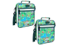 2x Sachi Thermal Insulated Picnic Lunch Tote Cooler Carry Pouch Bag Box City