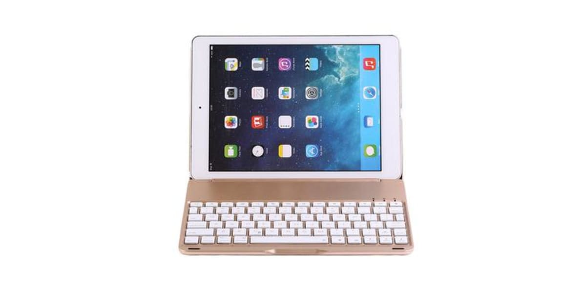 wireless bluetooth v3 0 keyboard case for ipad pro 9 7. Black Bedroom Furniture Sets. Home Design Ideas