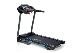 Electric Folding Treadmill with Large LCD Display