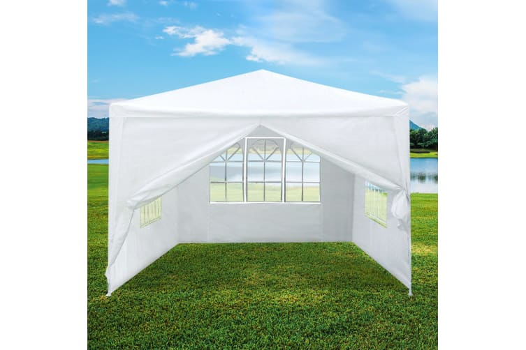 3x3m Outdoor Fully-Waterproof Party Marquee Tent-White