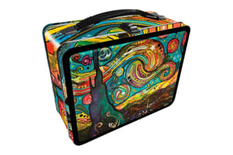 Dean Russo Starry Night Tin Carry All Fun Box