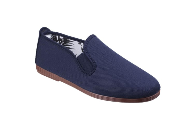 Flossy Womens/Ladies Arnedo Slip On Shoes (Navy) (5 UK)