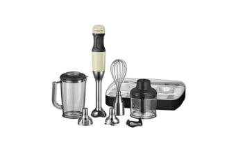 KitchenAid Artisan Deluxe Stick Blender Almond Cream