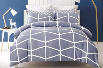 Gioia Casa Mandy Quilt Cover Set (Queen)