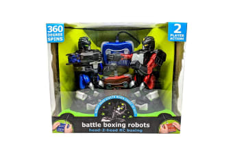 Infrared Remote Control Fighting Robots - 2 Pack