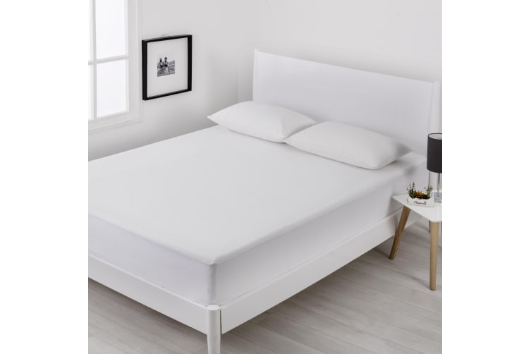 Cool Touch Mattress Protector King Single Bed