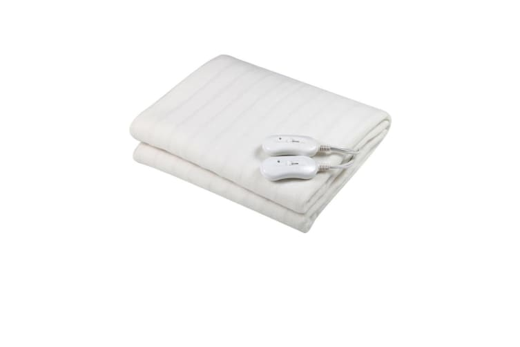 Heller Double Size Fitted Electric Blanket Washable 3 Heat For Mattress Bed