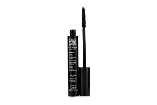 TheBalm What's Your Type Tall, Dark, and Handsome Mascara - # Black (10ml/0.33oz)