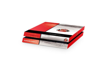 Sunderland AFC Official PS4 Console Skin (Red/White)