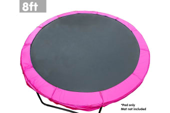 Powertrain Replacement Trampoline Spring Safety Pad - 8ft Pink