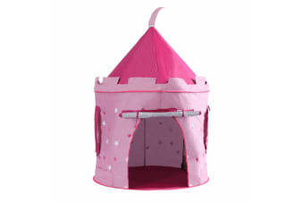 Children Pop Up Play Tent Princess Castle Pink UV Proof Indoor & Outdoor Use