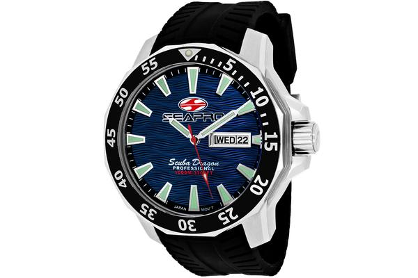 Seapro Men's Scuba Dragon Diver Limited Edition 1000 Meters (SP8316)