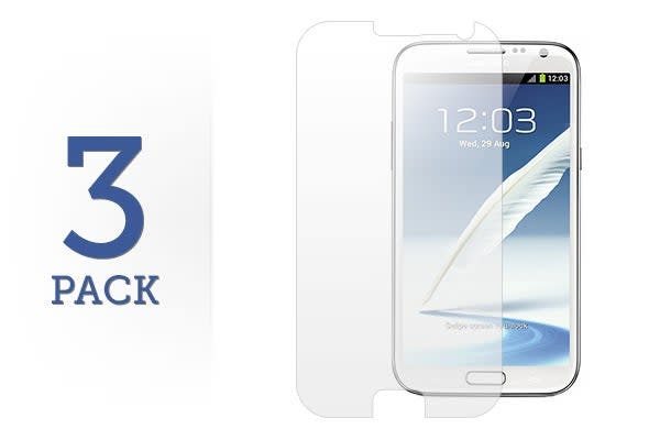 3 Pack Screen Protector for Samsung Galaxy Note 2