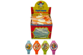 Henbrandt Puzzle Watch - Assorted Colours (Blue/Orange/Green/Pink)