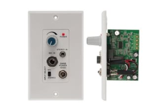 Pro2 Audio Amplifier Wall Plate