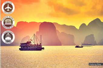 ​VIETNAM:​ 8 Day North Vietnam​ Tour ​Including​ ​Flights​ ​for Two