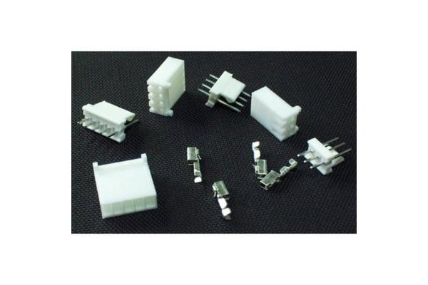 Polarized Connectors - Header (4-Pin)