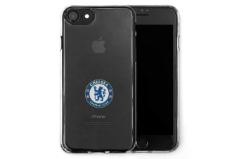 Chelsea FC iPhone 7/8 TPU Case (Transparent) (One Size)