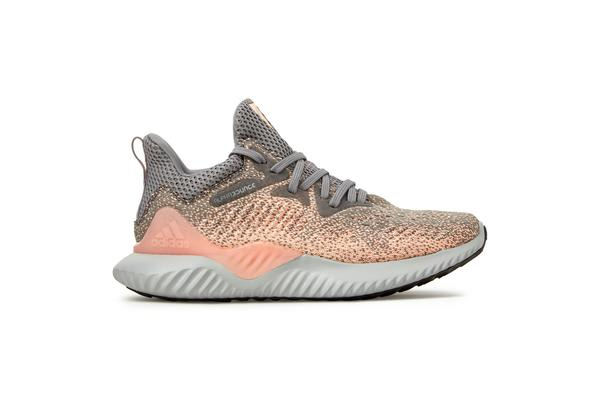 Adidas Kid's Alphabounce Beyond Shoes (Grey three/grey two/real magenta, Size 5 US)