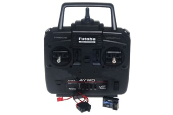 Futaba 4YWD 4-Channel Attack 2.4GHz Transmitter w/Receiver For Tamiya RC Truck