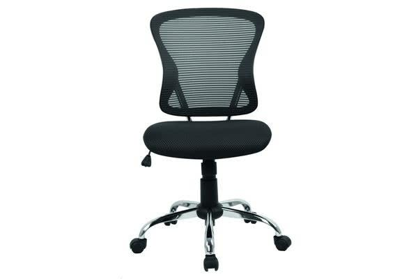Brenton Chair Mid Back - Black Mesh