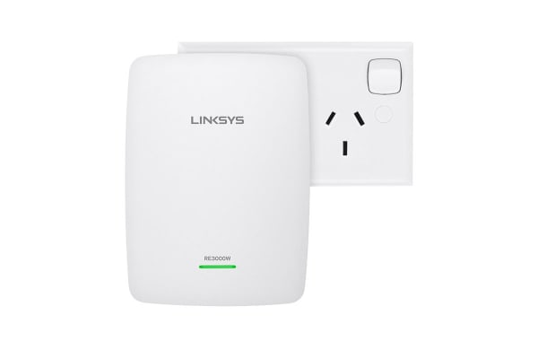 Linksys RE3000W N300 Wireless Range Extender (RE3000W-AU)