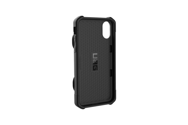 UAG Trooper Card for iPhone X (Black)