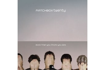 Matchbox Twenty ‎– More Than You Think You Are BRAND NEW SEALED MUSIC ALBUM CD