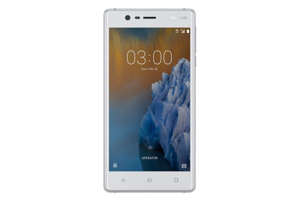 Nokia 3 (16GB, Silver White)