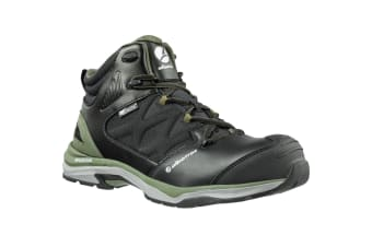 Albatros Mens Ultratrail Ctx Mid Safety Boot (Black/Olive)