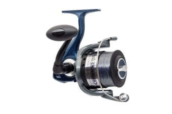 Jarvis Walker Crusader 2000 Fishing Reel - Spinning Reel Spooled with Line