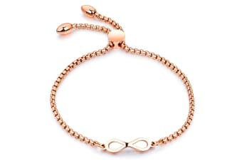 Infinity Bond Bracelet|Rose Gold