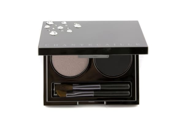 Chantecaille Evening Duo: 1x Eye Lid Shade Eyeshadow, 1x Eye Liner Shade Eyeshadow, 2x Applicator (3.5g/0.122oz)