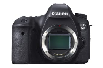 Canon EOS 6D DSLR Body Only (Black)
