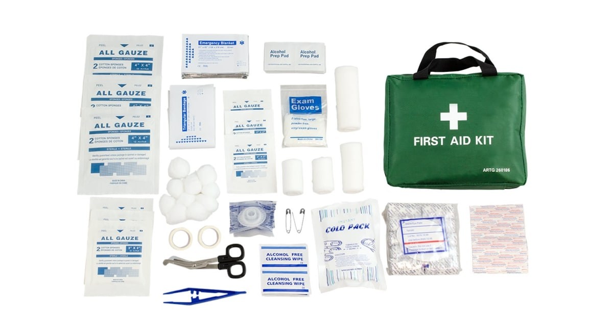 Emergency First Aid Kit (210 Piece) | Medical & First Aid |