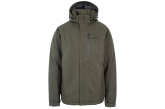 Trespass Mens Renner Waterproof Jacket (Olive)