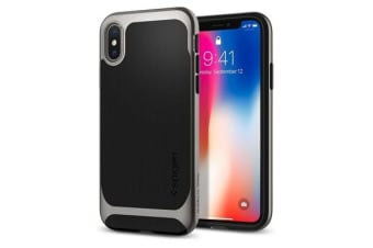 Spigen iPhone X Neo Hybrid Case Gunmetal