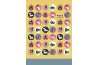 Dot the Dog - 2020 Premium Diary Planner A5 Padded Cover Christmas New Year Gift