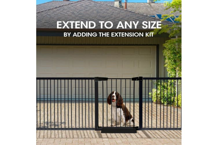 Baby Kids Pet Safety Security Gate Stair Barrier Doors Extension Panels 10cm  -  Extension Panel 10CM