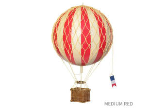 Ornamental Vintage Hot Air Balloons - Medium Red