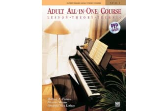 Alfred's Basic Adult All-In-One Course, Level 1 - Lesson, Theory, Technic