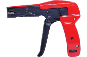 Professional Cable Tie Gun Fastening Tool 160mm Metal construciton Tension Dial