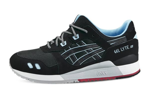 ASICS Tiger Men's Gel-Lyte III Running Shoe (Black/Black, Size 12)