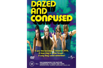 Dazed and Confused - Rare- Aus Stock DVD PREOWNED: DISC LIKE NEW